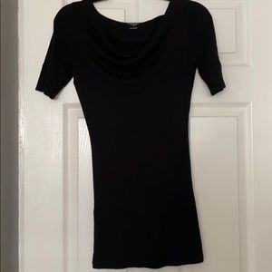 Express cowl neck 3/4 sleeve top
